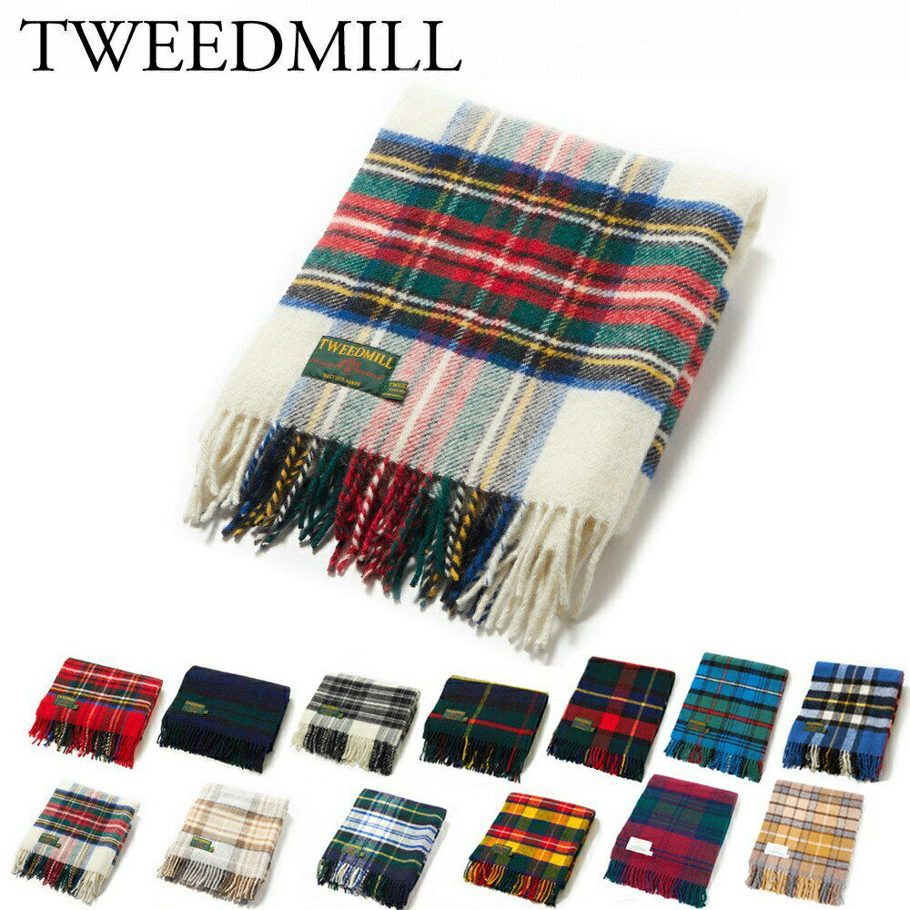 ツイードミル TWEEDMILL ブランケット THTAK 70X183 ウール