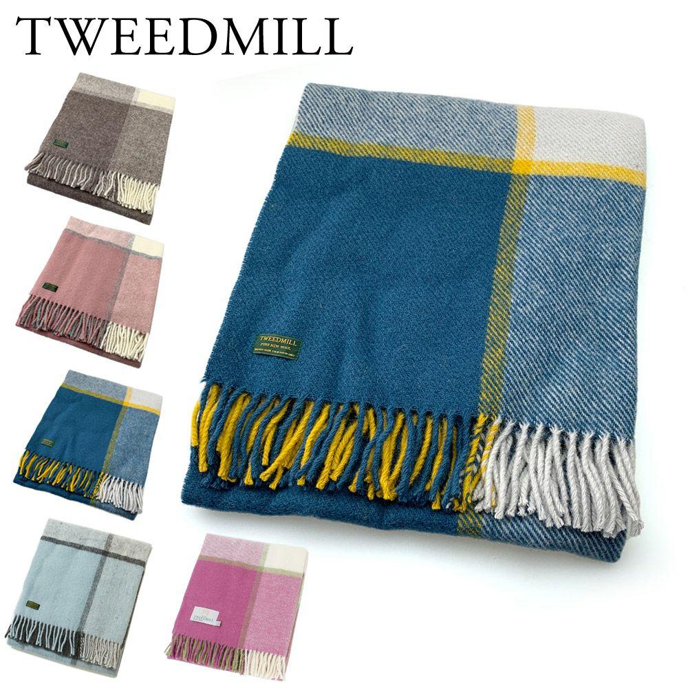 ツイードミル TWEEDMILL ブランケット THLSBLK 70X183 ウール