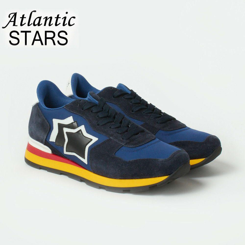 アトランティックスターズ メンズ スニーカー ATLANTIC STARS ANTARES AAB 89B BLUE