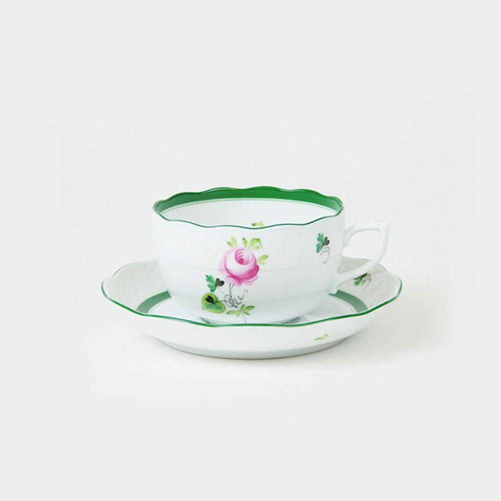 ヘレンド ウィーンのばら ティーカップ&ソーサー 724 Herend【お取り寄せ】