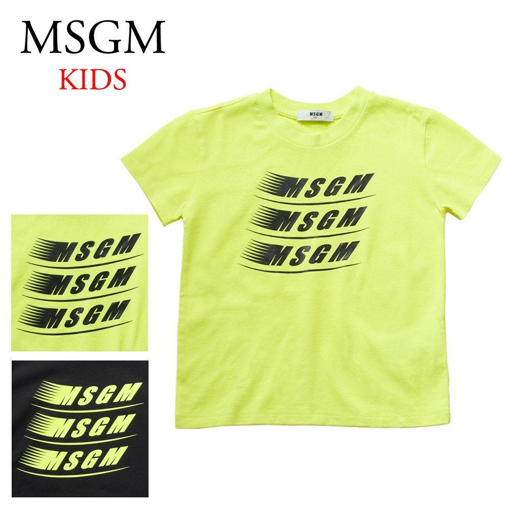 エムエスジーエム キッズ半袖Tシャツ 22404 選べるカラー MSGM