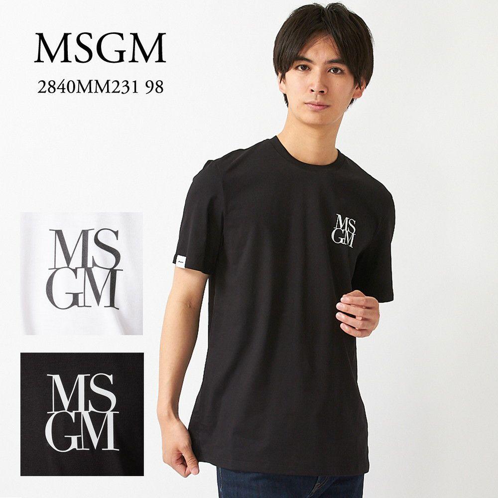 エムエスジーエム 半袖Tシャツ 2840MM231 98 選べるカラー MSGM