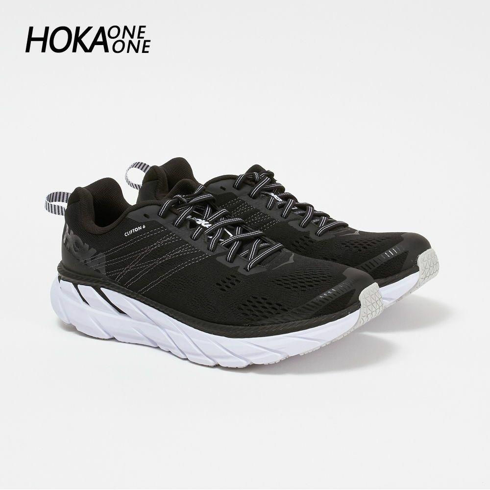 ホカ オネオネ メンズ スニーカー CLIFTON 6  1102872 ブラック×ホワイト BLACK/WHITE HOKA ONE ONE