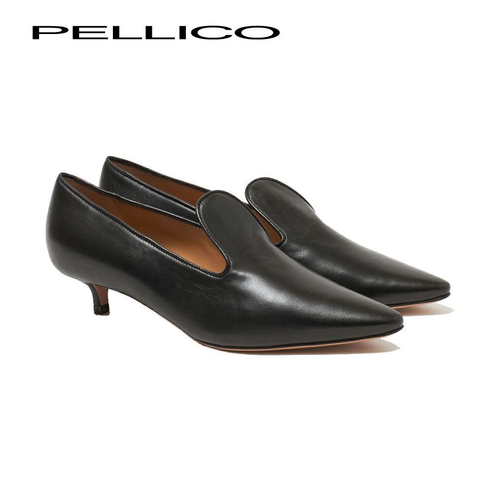 ペリーコ パンプス 0212 NEBI 35 NAPPA ブラック(NERO) PELLICO