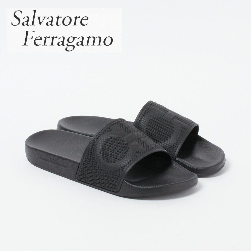 フェラガモ メンズ サンダル 020216 741813 GROOVE7 ブラック(NERO) FERRAGAMO
