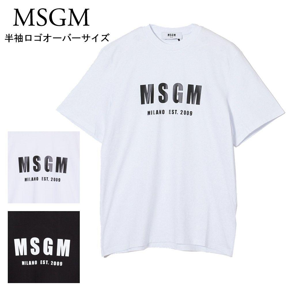 エムエスジーエム レディース Tシャツ オーバーサイズ 2841MDM92 選べるカラー MSGM