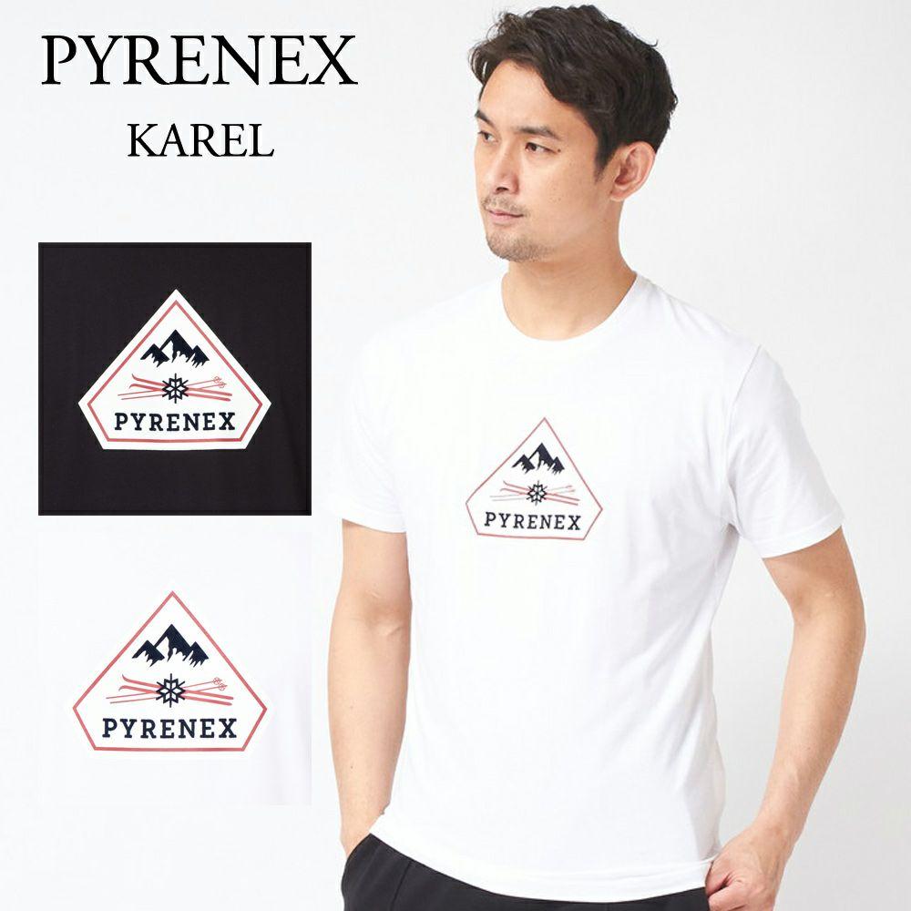 ピレネックス メンズ 半袖 ロゴ Tシャツ KAREL HMP024 選べるカラー PYRENEX