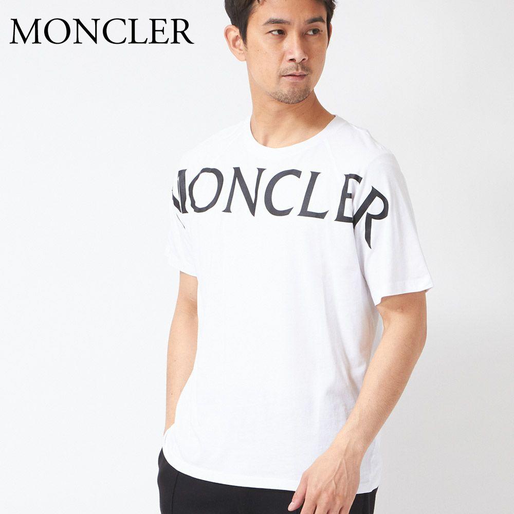 モンクレール メンズ Tシャツ 8C7C5 829H8 ホワイト(001) MONCLER